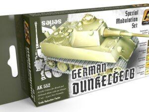 AK-0552 AK INTERACTIVE GERMAN DUNKELGELB MODULATION SET