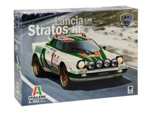 3654 ITALERI 1/24 Lancia Stratos HF