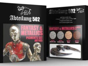 ABT405 ABTEILUNG 502 FANTASY E METALLICS - PIGMENT SET