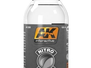 AK-0268 AK INTERACTIVE NITRO THINNER (FOR CLEAR COLORS AND FOR CLEANING)