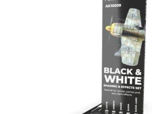 AK10039 WATERCOLOR PENCIL SET BLACK AND WHITE AK INTERACTIVE