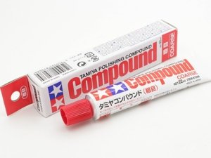 87068 Tamiya Polishing Compound (Coarse)
