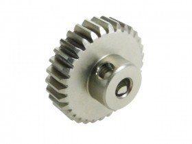 3RAC-PG4849 48 Pitch Pinion Gear 49T (7075 w/ Hard Coating) - 3Racing
