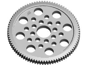 3RAC-SG4890 48 Pitch Spur Gear 90T - 3Racing Corona