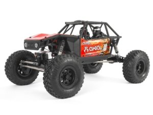 AXI03000T1 1/10 Capra 1.9 Unlimited 4WD Trail Buggy Brushed RTR Red