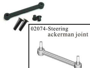02074 HSP Giunto centrale sterzo - Steering Ackerman Joint