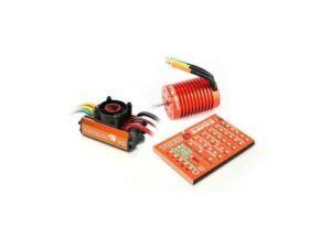 SKY300042-02 LEOPARD V2 1/10 Brushless combo Esc, 9,0T motor & Prog. Card SkyRC