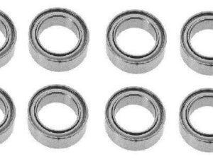 02080 HSP CUSCITETTI Oil Bearing 10X4X2.5mm 8 PEZZI
