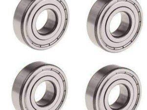 ATS65 10X4X3.50 mm Cuscinetti 4 pezzi Art-Tech