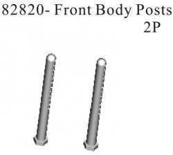 82820 Athena RK Front body post. (2 pc)