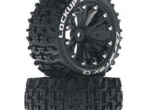 "DTXC3566 Lockup ST 2.8"" 2WD Mounted Rear Tires, Black(2)"