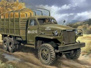 35511 1/35 Studebaker US6 WWII Army Truck ICM