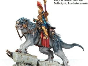 71-12 Easy to Build: Astreia Solbright, Lord-Arcanum Warhammer