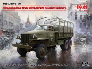 35510 1/35 Studebaker US6 with WWII Soviet Drivers ICM