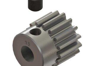ARAC7875 AR310424 Pignone Pinion Gear 15T 0.8mod 4x4 ARRMA