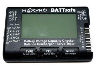MAX4001 TESTER SERVO E BATTERIE MaxPro