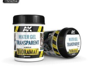 AK-8002 [DIORAMA] WATER GEL TRANSPARENT - 250ml (Acrylic) AK INTERACTIVE