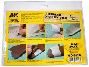 AK-9045 AIRBRUSHING MASKING FILM (2 UNITS SIZE A4) AK INTERACTIVE